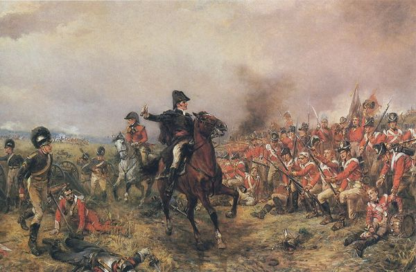 Wellington at Waterloo